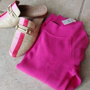Talbots Pink Sweater. NWT